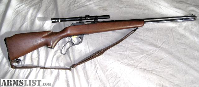Armslist for sale marlin 22 magnum with scope lever action www
