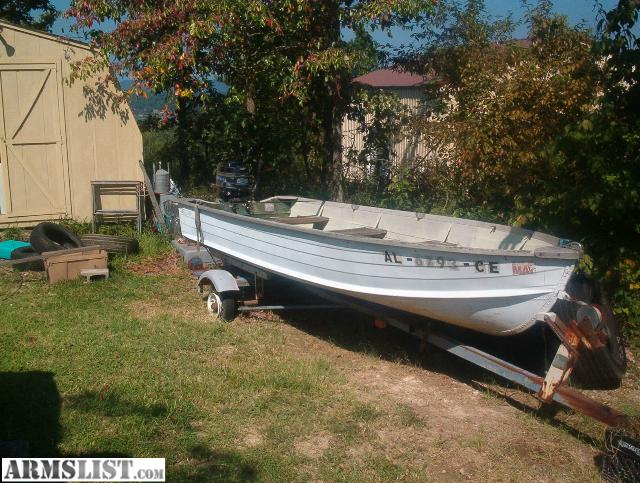 Armslist for trade 14 ft aluminum boat with 25 horse for 14 ft fishing boat