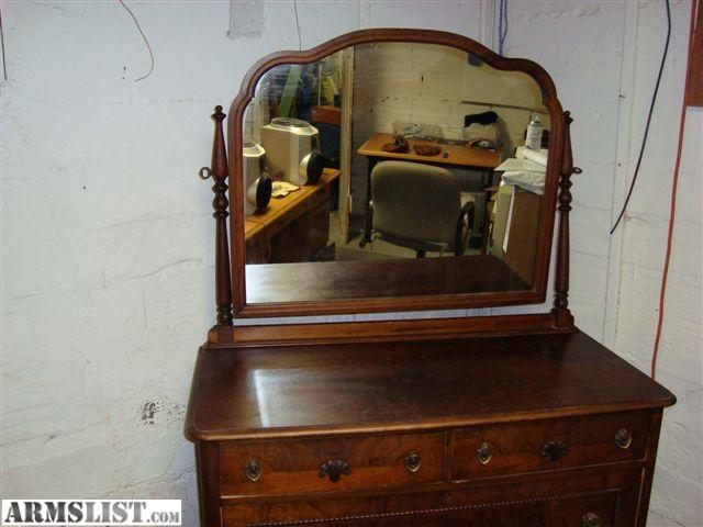 Armslist For Sale Antique Dresser With Mirror
