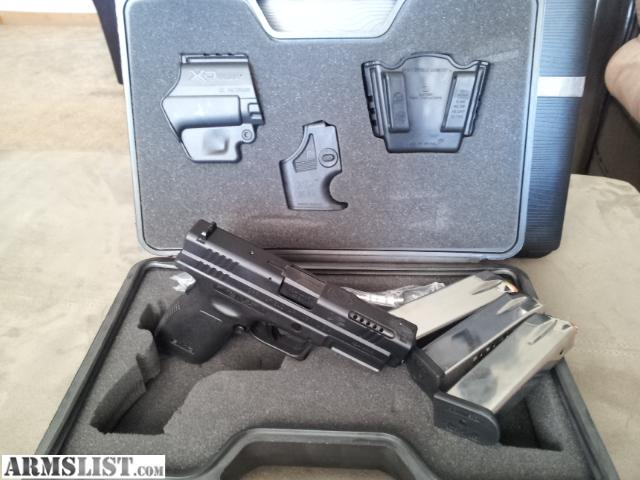 Springfield 9mm xd 9mm/.40 in Sig or xd