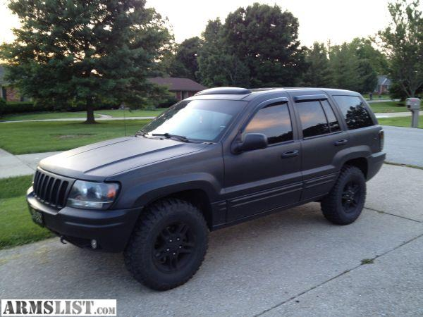 Armslist for sale trade custom 99 jeep grand cherokee rhino liner paint job for Rhino liner jeep exterior cost