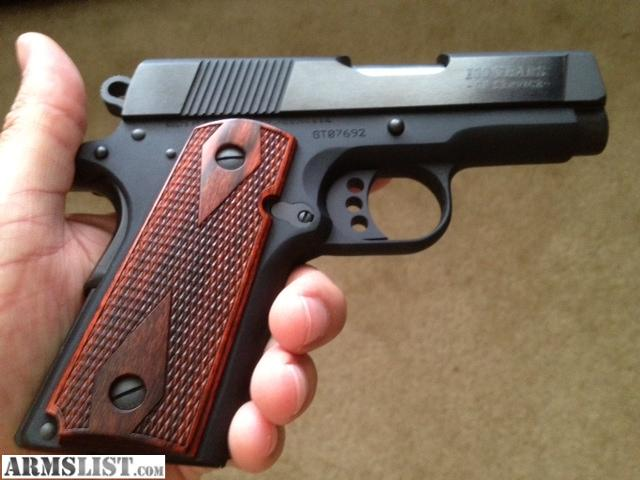 Armslist for sale colt 45 new agent quot 100 years of service quot slide