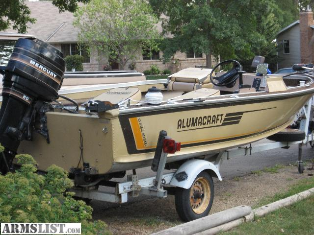 Armslist for sale trade real nice fishing boat for Fishing boats for sale mn