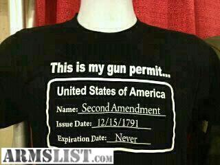 support your 2nd amendment rights