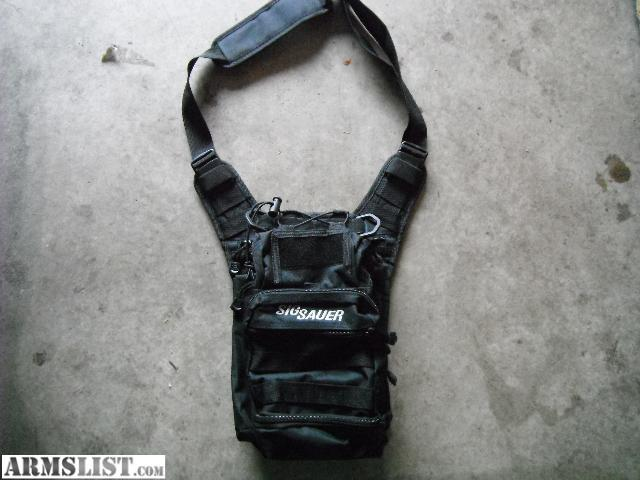 Sig Sauer Black Tactical Shoulder Bag 19
