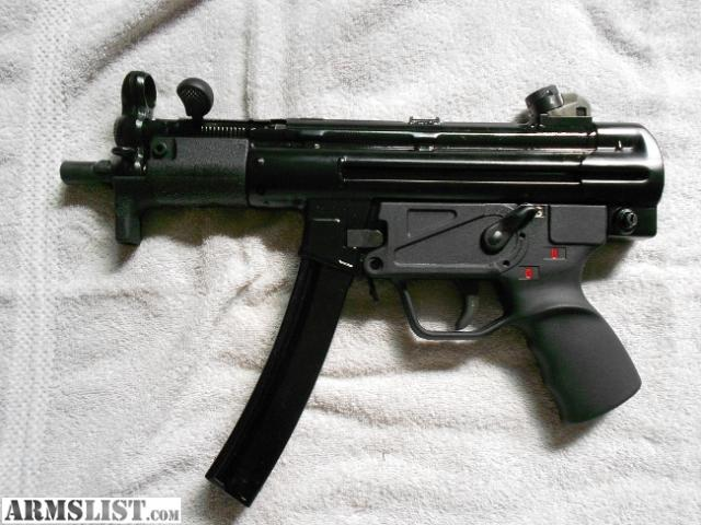 ARMSLIST - For Sale: HK SP98/mp5k 9mm clone. Vector V79