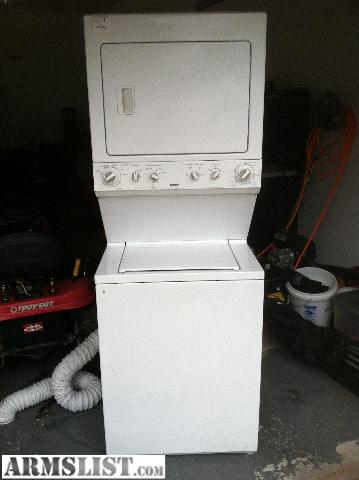 Armslist For Sale Trade 2003 Kenmore Stacked Washer
