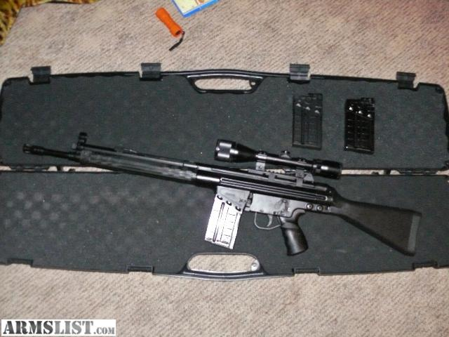 Cetme G3 For Sale: For Sale/Trade: CETME SPORTER .308 G3