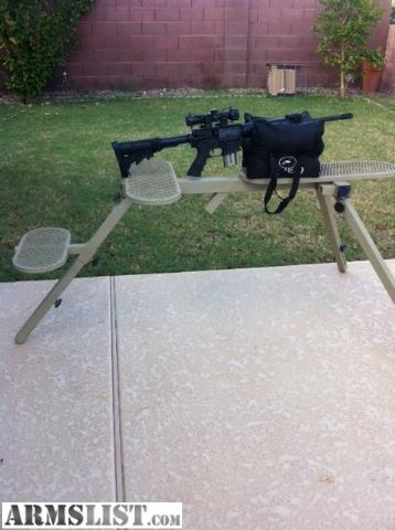 Armslist For Sale Heavy Duty Shooting Bench Fully Portable All Steel Adjustable