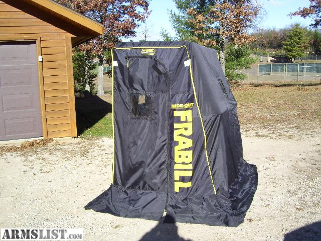 Armslist for sale frabill ice shelter for Ice fishing huts for sale