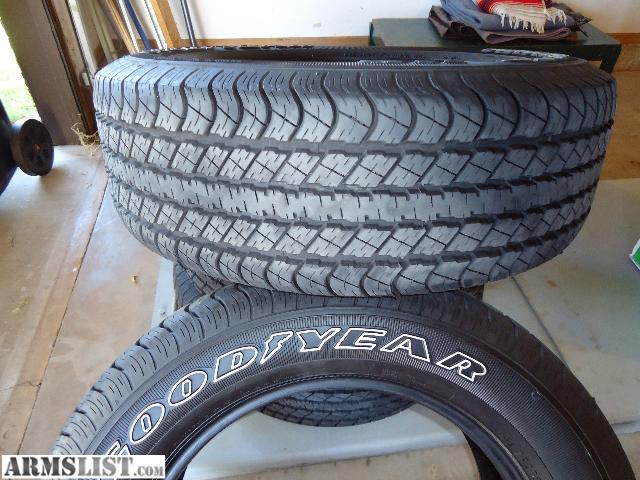 Armslist for sale goodyear tires for Goodyear white letter tires for sale