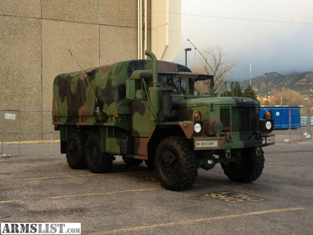 Antique Big Trucks For Sale http://armslist.com/posts/676411/colorado-vehicles-for-sale--1997-m35a3-army-6x6-truck