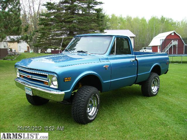 For Sale: 1968 Chevy Shortbox 4x4