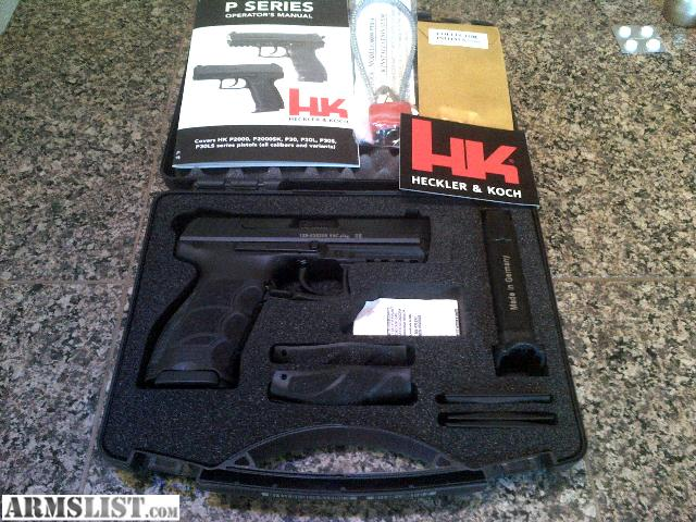 Armslist for sale h k p30 9mm for Koch 63 od manual