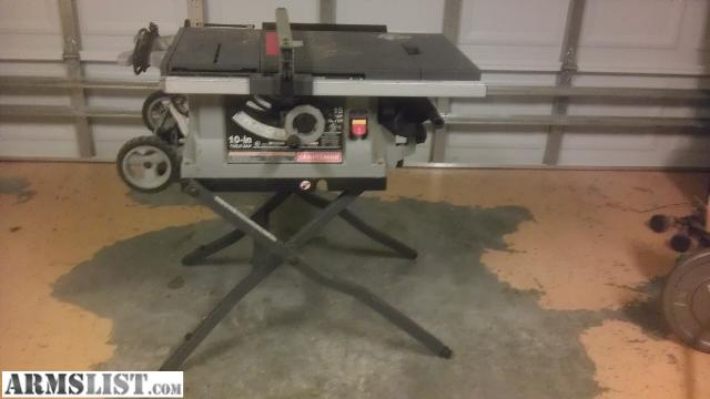 Armslist for sale craftsman table saw 10 for 10 inch table saws for sale