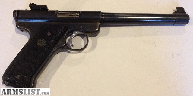 For Sale: (SOLD) Ruger Mark 1 Semi-Auto Pistol