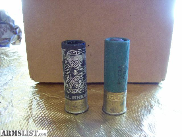 paper shotgun shells for sale Before the widespread use of plastic shotgun hulls and wads there was paper and brass.