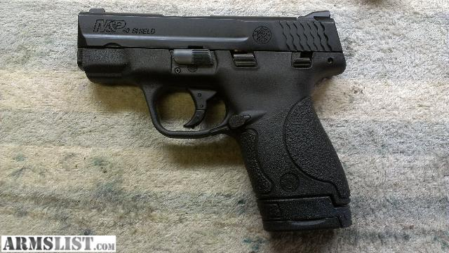M And P Shield 40 ARMSLIST - For Trade: ...