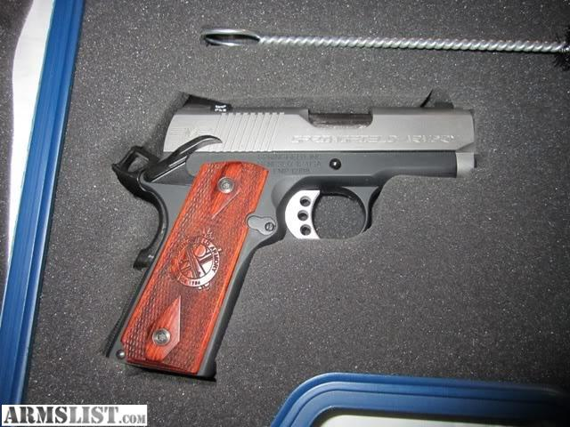 For Sale/Trade: Springfield EMP 9mm MINT CONDITION IN ORIGINAL BOX
