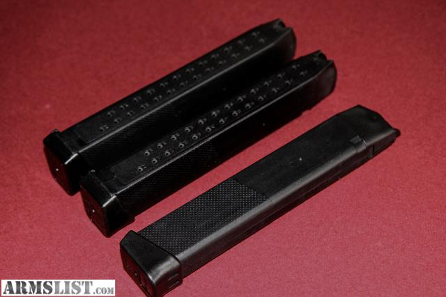 ARMSLIST - For Sale: Extended Glock 21 Mags