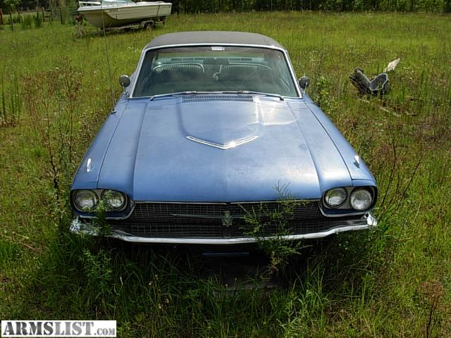 56 Ford Thunderbird For Sale http://www.armslist.com/posts/734655/north-carolina-vehicles-for-sale--1966-ford-thunderbird