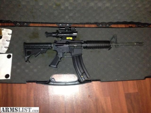 For Sale: AR 15 BUSHMASTER 223/5.56 NATO SEMI
