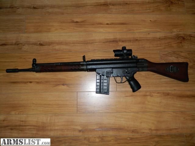 ARMSLIST - For Sale: HK 91 Assault Rifle in .308 Caliber ...