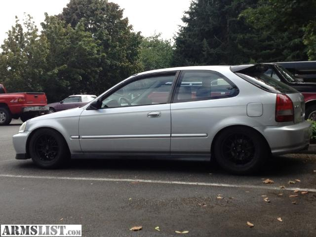Armslist for sale trade 99 honda civic hatch for ar for Honda civic 99 for sale