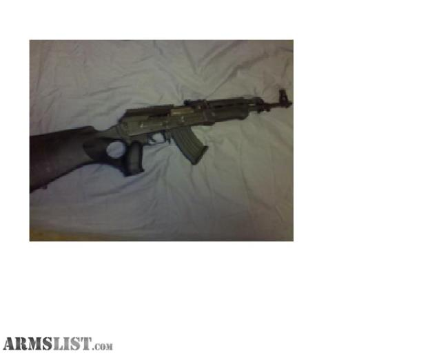 Great condition Zastava Serbian AK 47 for sale. Scope rail on receiver