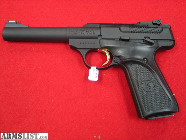 Best Competition Target Gun http://armslist.com/posts/762682/oklahoma-city-oklahoma-handguns-for-sale--browning-buck-mark-competition-pro-target--22lr-pistol