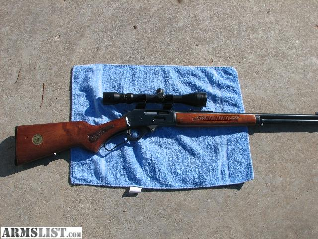 this is a marlin 3081 which is an anniverary model same thing a 336 in ...