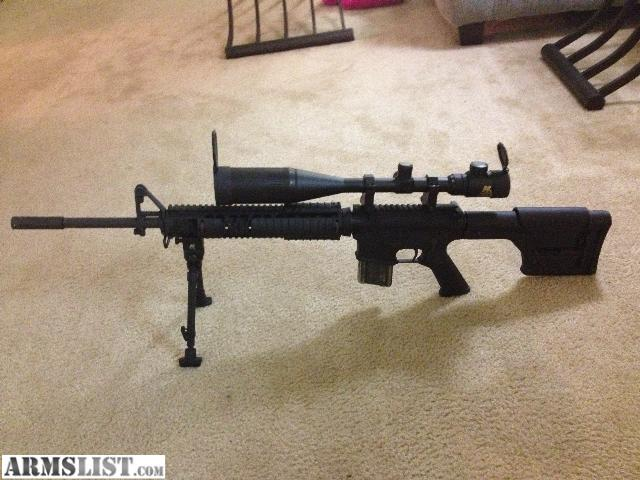 ARMSLIST - For Sale/Trade: AR15 Sniper Rifle