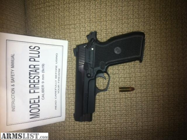 Firestar Plus 9Mm Review http://armslist.com/posts/782782/oklahoma-city-oklahoma-handguns-for-sale--interarms-model-firestar-plus-9mm-semi-auto