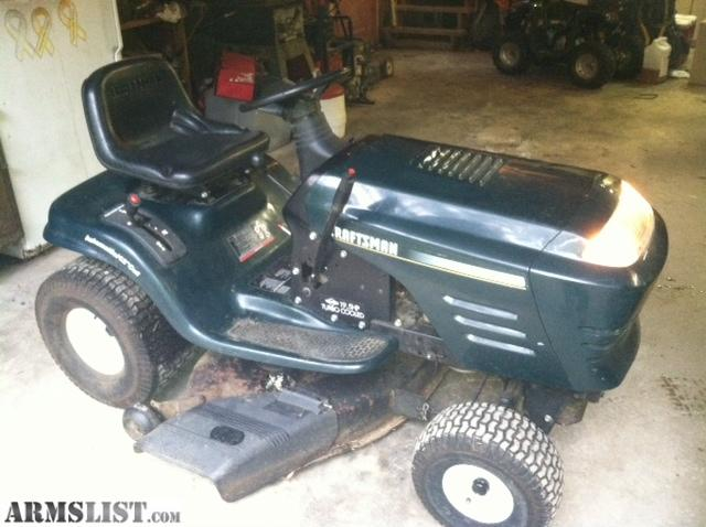 Armslist For Trade Craftsman 42inch 19 5 Hp Riding