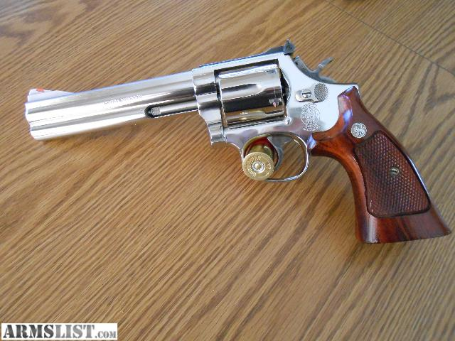 ARMSLIST For Sale Smith Wesson 586 Nickel