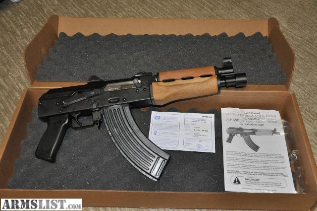 For Sale: NEW IN BOX- AK47 M92 7.62 pistol w/ optional ammo and mags