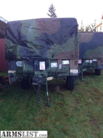 Armslist For Sale M1101 Military Trailer 1200