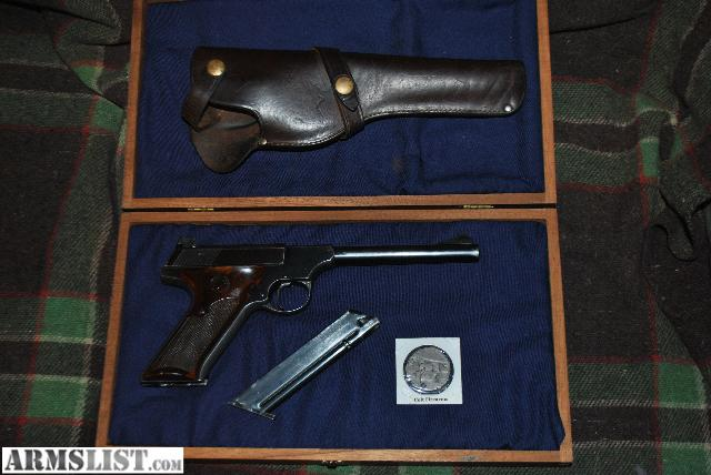 Armslist for sale trade 1948 colt woodsman sport