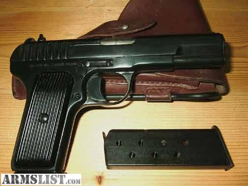 7_62 X 25 http://www.armslist.com/posts/821551/charleston-south-carolina-handguns-for-trade--7-62-x-25-tokarev
