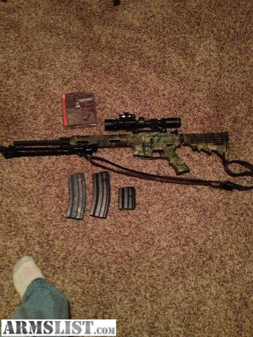 armslist for sale: remington r 15 vtr .223 with