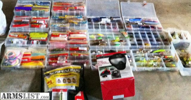 armslist for sale trade bass fishing gear