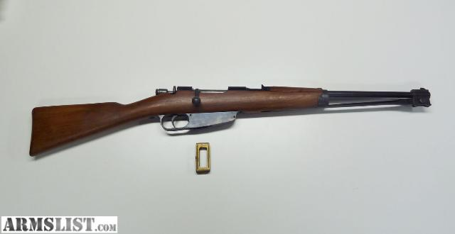 Gardone Vt Rifle http://www.armslist.com/posts/845249/cincinnati-ohio-rifles-for-sale-trade--gardone-vt-m91-38--6-5mm