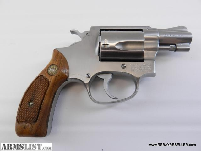 For sale smith amp wesson model 60 38 special stainless revolver