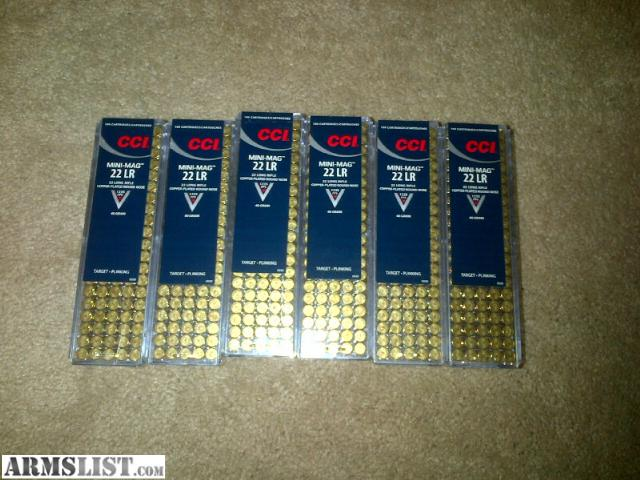 22lr CCI Mini Mag Ammo HARD TO FIND RIGHT NOW 1000 Rounds! .22 lr