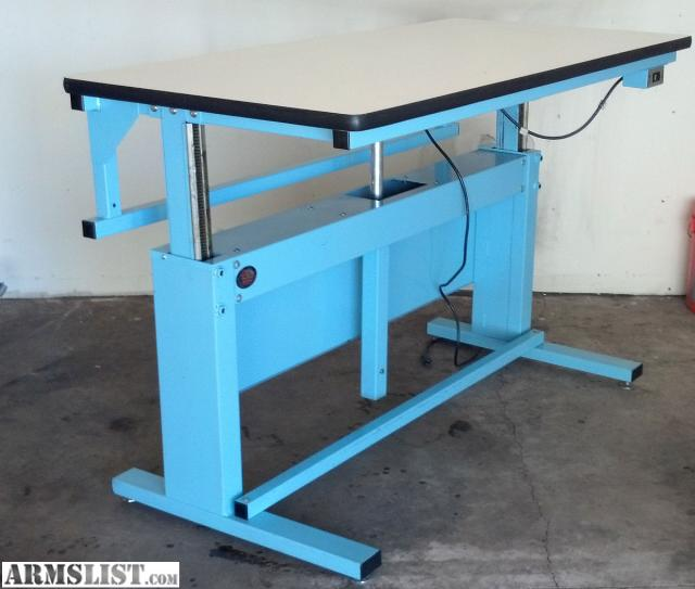 Armslist For Sale Trade Proline Electric Adjustable Work Bench Table For Gunsmith Reloading