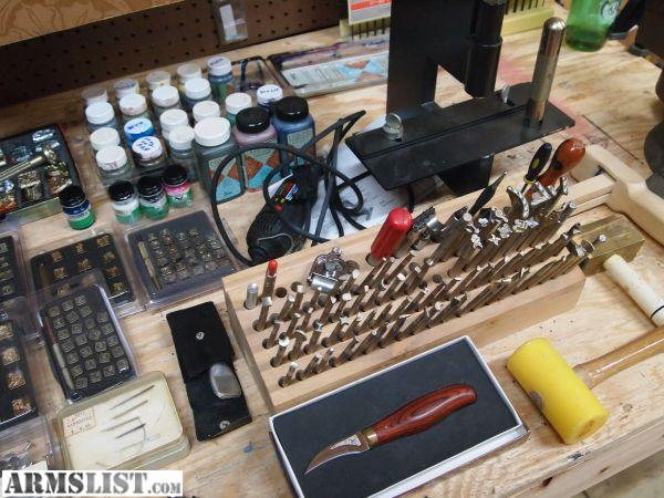 Armslist For Sale Huge Lot Of Leatherworking Tools And