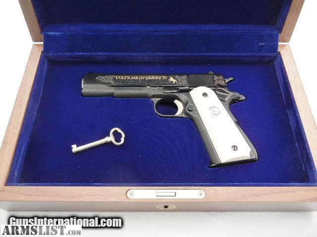 Engraving Guns For Sale This Gun is a Engraved From