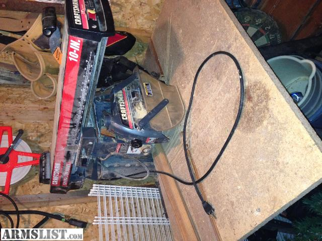 ARMSLIST - For Sale/Trade: Radial Arm Saw Craftsman