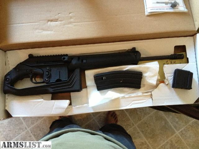 Kel Tec Su 16 C http://armslist.com/posts/901369/jacksonville-north-carolina-rifles-for-sale--kel-tec-su-16c--5-56--223