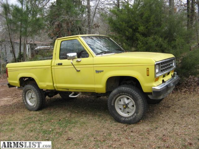 armslist for sale trade 1988 ford ranger xlt 4x4. Cars Review. Best American Auto & Cars Review
